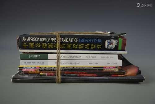 Ten Auction Catalogs