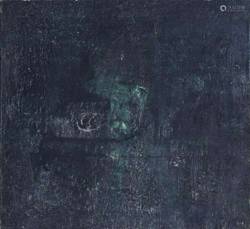 Bice LAZZARI (ITA/1900-1981) Sans titre, 1958 Huile sur