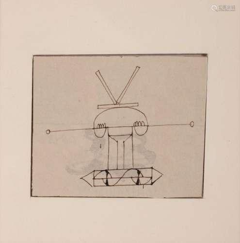 Just MIKAILOFF (FRA/1937-1967) Sans titre, ca. 1960