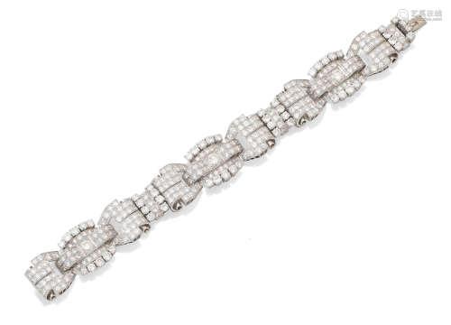A diamond bracelet, circa 1960