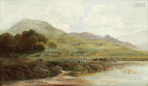 Barmouth, North Wales  Alfred Walter Williams(British, 1824-1905)
