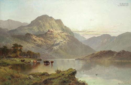 June morning  Alfred de Bréanski Snr(British, 1852-1928)