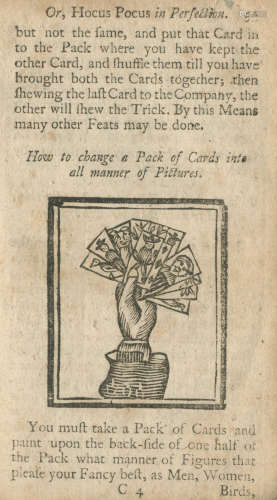 DEAN (HENRY) The Whole Art of Legerdemain; Or, Hocus Pocus in Perfection... the fifth edition, with large additions and amendments, J. Hodges [and others], [1763?] CONJURING AND MAGIC