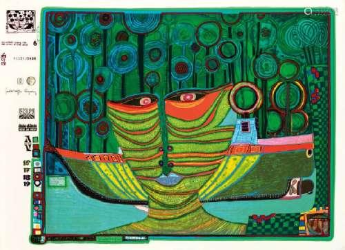 Friedensreich Hundertwasser, 1927-2000, Kolumbus