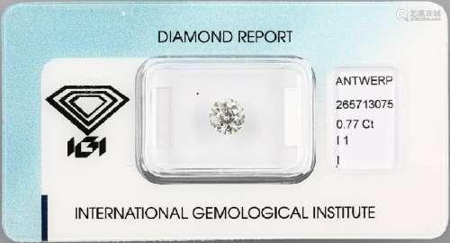 Loose old cut diamond