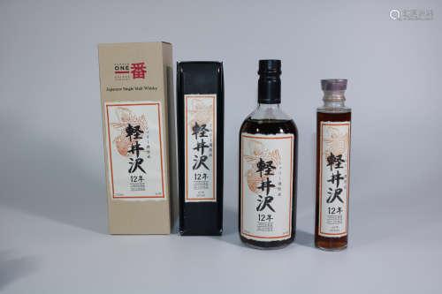 红色鲤鱼标軽井沢12年