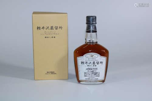 軽井沢蒸留所 樽出し原酒24年