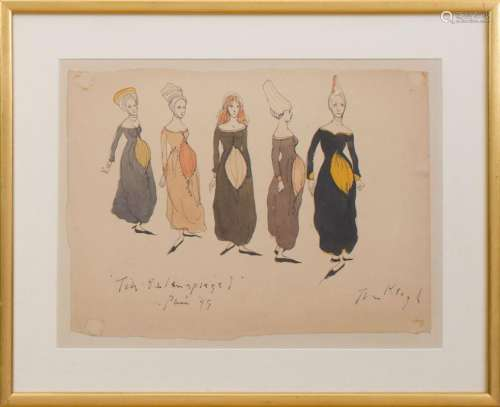 TOM C. KEOGH (1922-1980): COSTUME STUDY