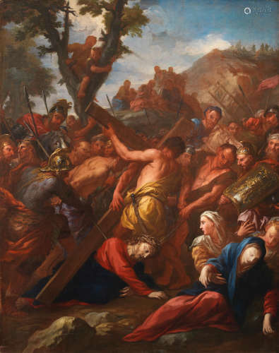 Christ on the Road to Calvary Pietro Dandini(Florence 1646-1712)