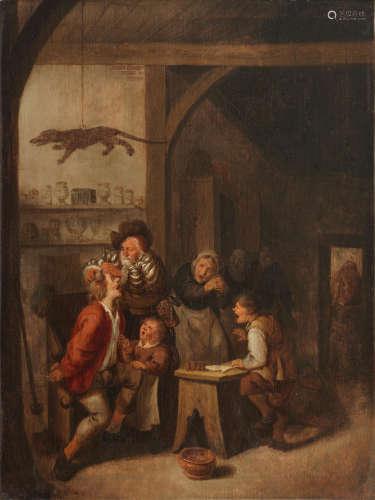 The quack doctor Jan Miense Molenaer(Haarlem circa 1610-1668)