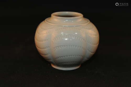 A Chinese Ding-Type Porcelain Jar