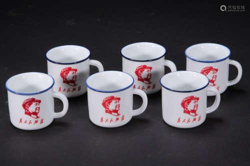 茶杯六件套一组