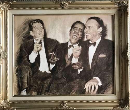 A SKETCH OF THREE MEN