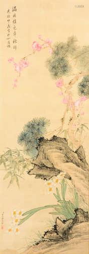 屈兆麟 花卉