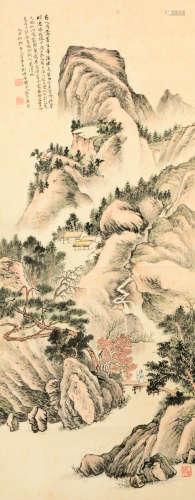 李文淵 山水