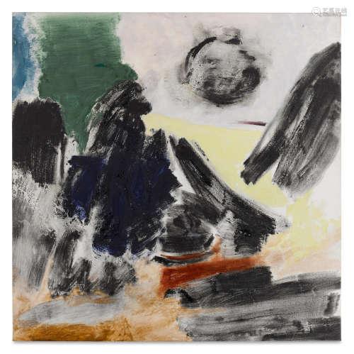Omen, 1988 Friedel Dzubas(German/American, 1915-1994)