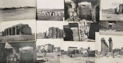 ACCUMULATION DE PHOTOGRAPHIES / VUES D'EGYPTE - DONT ZANGAKI & J.P. SEBAH