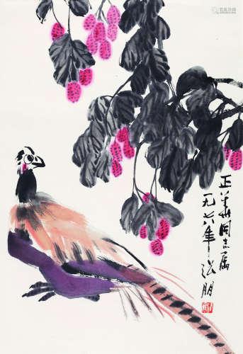 张 朋(1918-2009) 1978年 大吉大利 纸本设色 镜心