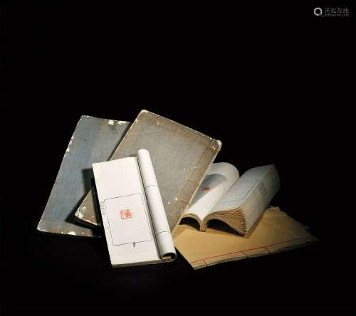 民国 《削觚庐印存》、《十六家墨说》等六册