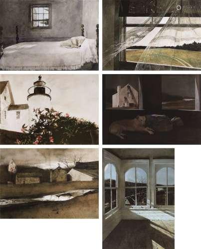 安德鲁·怀斯 海风、Night Sleeper、Master Bedroom、Last Light等 版画 数字