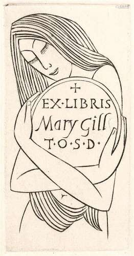 Eric Gill (1882-1940) Mary Gill