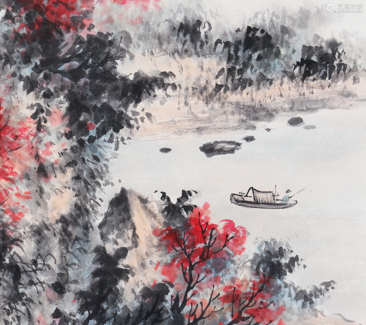 Attributed to Huang Junbi (Chinese Scroll Painting)-【Deal