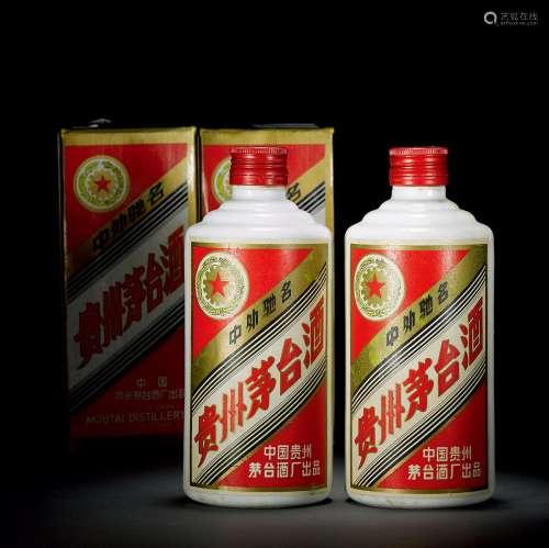 1988年五星牌贵州铁盖茅台酒