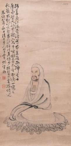 Zhou Ji (1781-1839)  - Monk