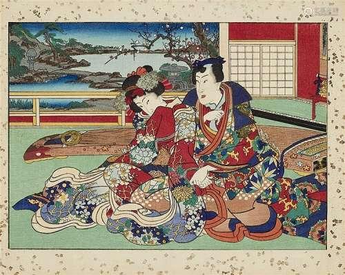 School of Utagawa Kunisada (1786-1864)