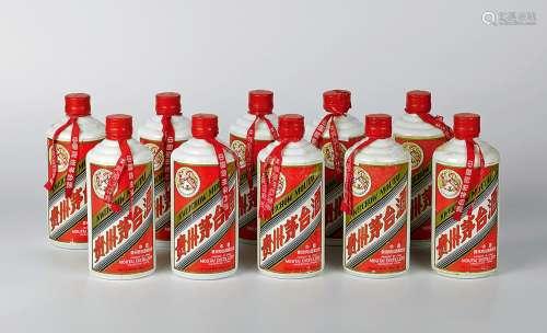 1994-1995年产飞天牌铁盖贵州茅台酒