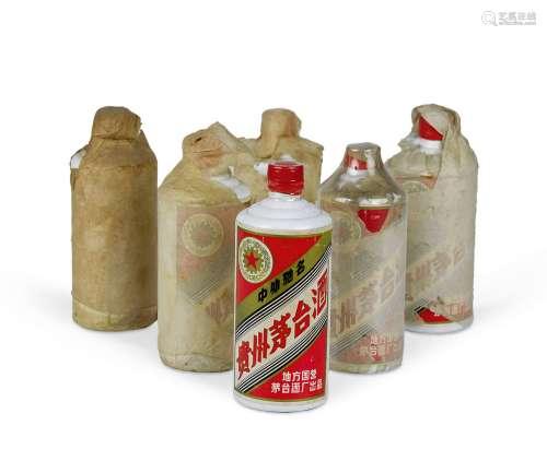 1983-1986年产五星牌地方国营贵州茅台酒