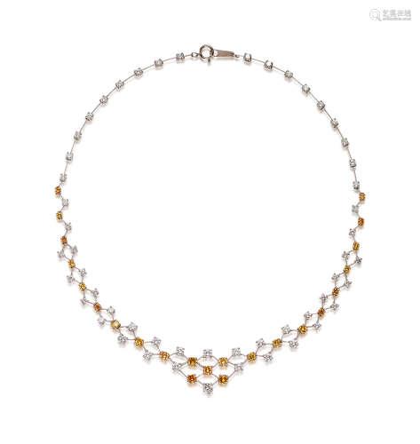 彩色钻石及钻石项链
