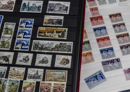 A collection of stamps