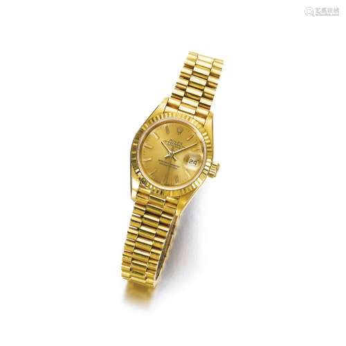 Gold wristwatch, 'Oyster Perpetual', Rolex