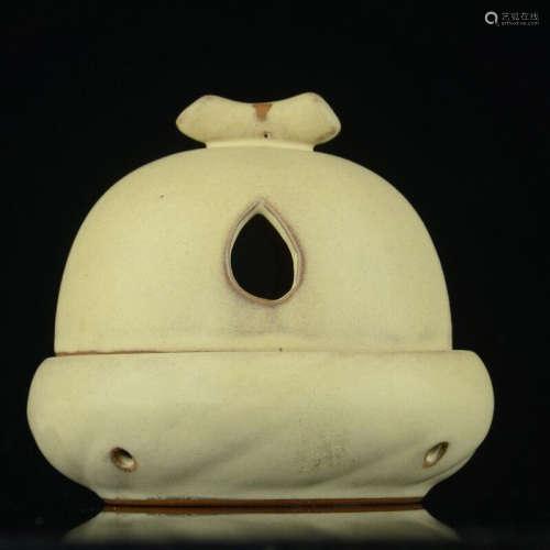 陶香炉(配沉香盘香与点香支架)
