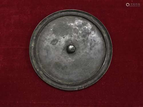 双圈凸弦素镜