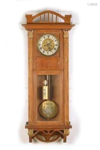 wall clock, Art Nouveau