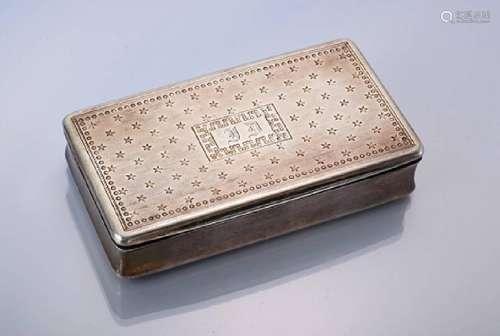 Bonbonniere, France 1838, silver 950