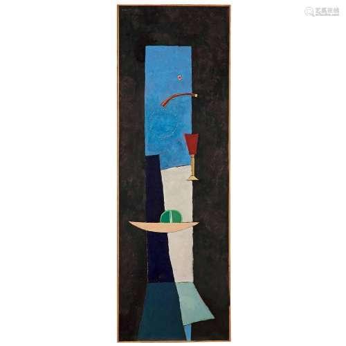 SERGIO DE CASTRO (1922-2012)Table-colonne (La Nuit), 1954
