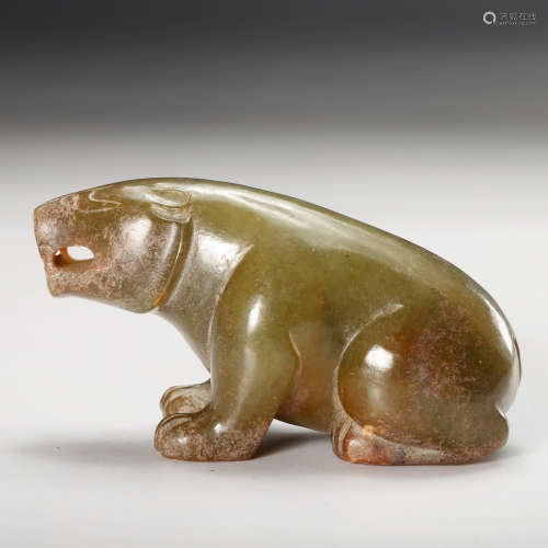 CHINESE JADE BEAR