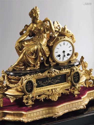 民国  杜公馆旧藏西洋座钟