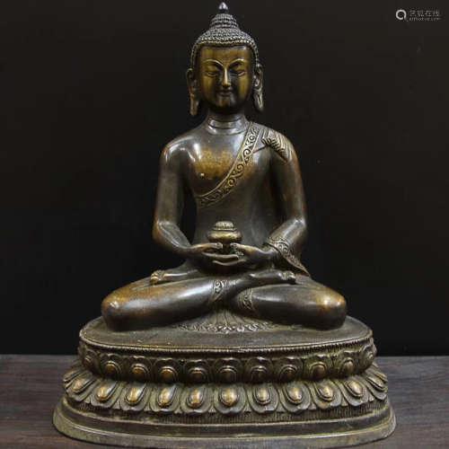 14-16TH CENTURY, A BUDDHA DESIGN ORNAMENT, MING DYNASTY
