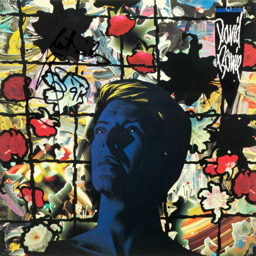 EMI records, 1984, David Bowie: An autographed copy of the album Tonight,