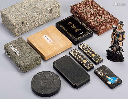 各种包装墨 (五盒)