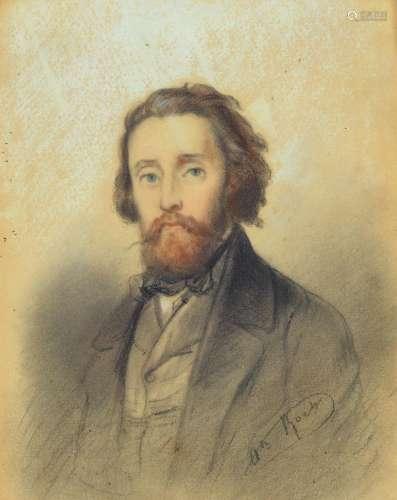 Alexandre Marie Roche, 1823-1878 Paris, portrait of