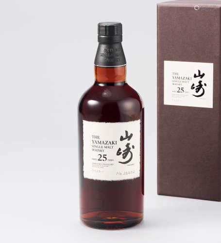山崎25年单一麦芽威士忌