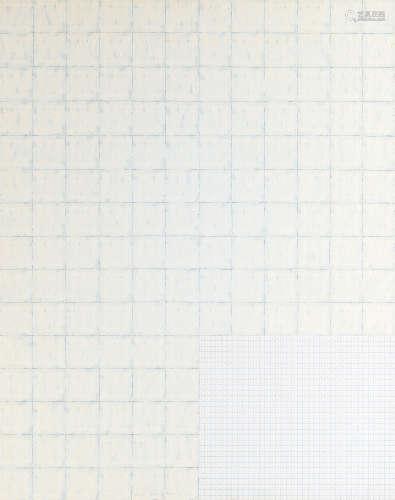 坪田政彦(1947~) border color dot-M 镜框 布面油画