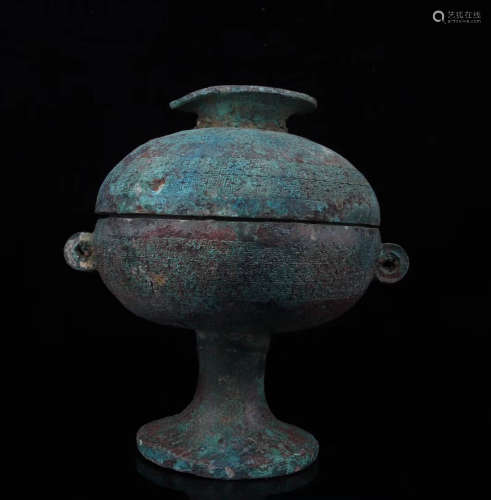 453-221BC, A BRONZE VESSEL, SPRING AND AUTUMN&WARRING STATES DYNASTY