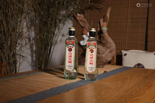 1996年沱牌大曲两瓶