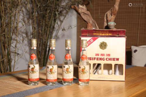 1993年 西凤出口礼盒套装(4瓶)